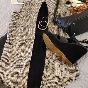 Burberry Bags - 4pc. Burberry bag, shoes,top and skirt